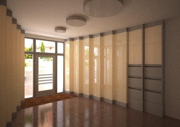Gestaltungsvariante Foyer H117